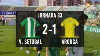 I Liga (33ªJ): Resumo Vitória FC 2-1 FC Arouca