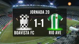 I Liga (20ªJ): Resumo Boavista FC 1-1 Rio Ave FC