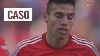 SL Benfica, Caso, Gaitán aos 24'