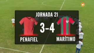 I Liga (21ªJ): Resumo FC Penafiel 3-4 Marítimo M.