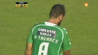 Vitória FC, Jogada, Paulo Tavares aos 17'