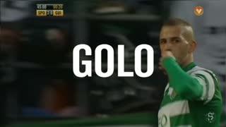 GOLO! Sporting CP, Slimani aos 45', Sporting CP 3-0 Vitória SC