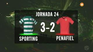 I Liga (24ªJ): Resumo Sporting CP 3-2 FC Penafiel