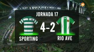 Liga (17ª J): Resumo Sporting 4-2 Rio Ave