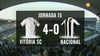 I Liga (15ªJ): Resumo Vitória SC 4-0 CD Nacional