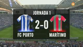 I Liga (1ªJ): Resumo FC Porto 2-0 Marítimo M.