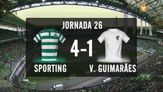 I Liga (26ªJ): Resumo Sporting CP 4-1 Vitória SC
