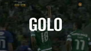 Sporting CP, Carrillo aos 34', Sporting CP 1-1 Os Belenenses