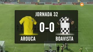 I Liga (32ªJ): Resumo FC Arouca 0-0 Boavista FC