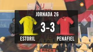 I Liga (26ªJ): Resumo Estoril Praia 3-3 FC Penafiel