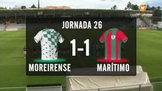 I Liga (26ªJ): Resumo Moreirense FC 1-1 Marítimo M.