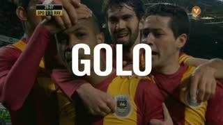 GOLO! Rio Ave FC, Del Valle aos 39', Sporting CP 1-1 Rio Ave FC