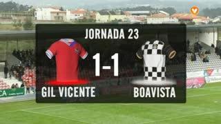 I Liga (23ªJ): Resumo Gil Vicente FC 1-1 Boavista FC