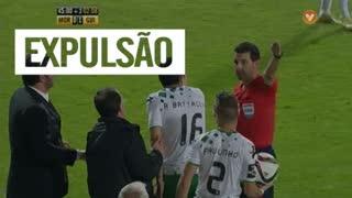 Vitória SC, Expulsão, Rui Vitória aos 47'