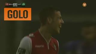 GOLO! SC Braga, Pedro Tiba aos 44', SC Braga 3-0 Vitória FC