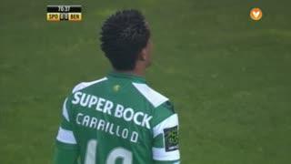 Sporting, Jogada, Carrillo aos 71'