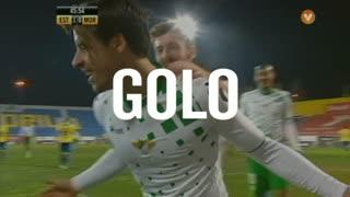 GOLO! Moreirense FC, Vitor Gomes aos 46', Estoril Praia 1-1 Moreirense FC