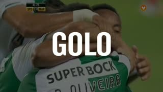 GOLO! Sporting CP, Paulo Oliveira aos 42', Sporting CP 3-0 Marítimo M.