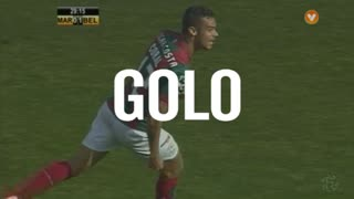 GOLO! Marítimo M., Edgar Costa aos 30', Marítimo M. 1-1 Os Belenenses