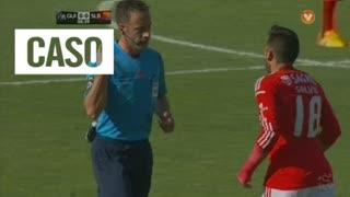 SL Benfica, Caso, Maxi Pereira aos 6'