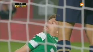 Sporting CP, Jogada, Adrien Silva aos 48'