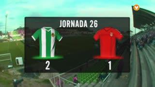I Liga (26ªJ): Resumo Rio Ave FC 2-1 SL Benfica