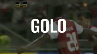GOLO! SC Braga, Zé Luís aos 62', SC Braga 1-0 Rio Ave FC