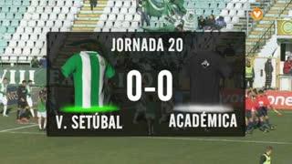 I Liga (20ªJ): Resumo Vitória FC 0-0 A. Académica