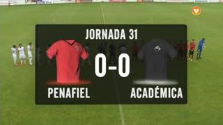 I Liga (31ªJ): Resumo FC Penafiel 0-0 A. Académica
