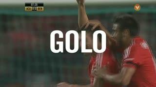 GOLO! SL Benfica, Gaitán aos 8', A. Académica 0-1 SL Benfica