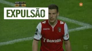 SC Braga, Expulsão, Pedro Tiba aos 92'