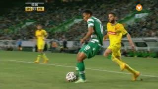 Sporting CP, Jogada, Carrillo aos 43'
