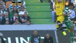 Sporting CP, Jogada, Tanaka aos 41'
