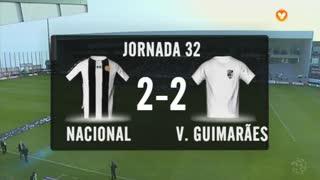 I Liga (32ªJ): Resumo CD Nacional 2-2 Vitória SC