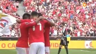 GOLO! SL Benfica, Jonas aos 59', SL Benfica 3-0 CD Nacional