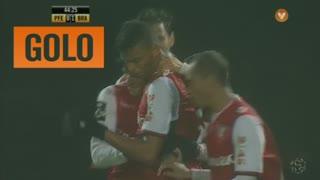 GOLO! SC Braga, Aderllan Santos aos 45', FC P.Ferreira 0-1 SC Braga