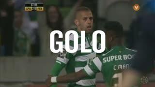 GOLO! Sporting CP, Slimani aos 8', Sporting CP 2-0 FC Penafiel