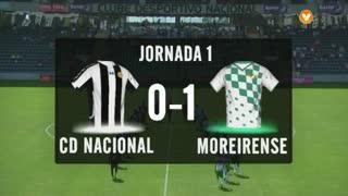 I Liga (1ªJ): Resumo CD Nacional 0-1 Moreirense FC