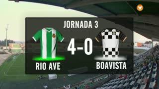 I Liga (3ªJ): Resumo Rio Ave FC 4-0 Boavista FC