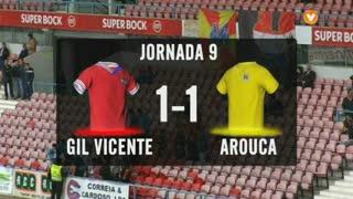 I Liga (9ªJ): Resumo Gil Vicente FC 1-1 FC Arouca