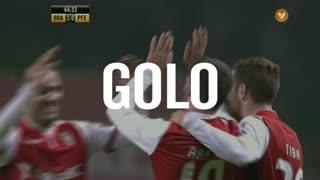 GOLO! SC Braga, Rafa aos 45', SC Braga 3-0 FC P.Ferreira