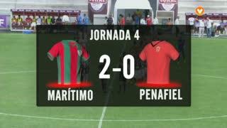 I Liga (4ªJ): Resumo Marítimo M. 2-0 FC Penafiel