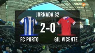 I Liga (32ªJ): Resumo FC Porto 2-0 Gil Vicente FC