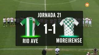 I Liga (21ªJ): Resumo Rio Ave FC 1-1 Moreirense FC