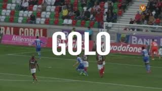 GOLO! Gil Vicente FC, João Vilela aos 42', Marítimo M. 1-1 Gil Vicente FC