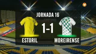 I Liga (16ªJ): Resumo Estoril Praia 1-1 Moreirense FC