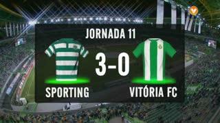 I Liga (11ªJ): Resumo Sporting CP 3-0 Vitória FC