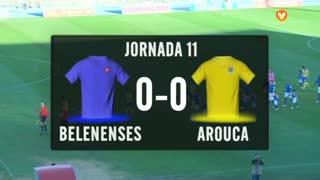 I Liga (11ªJ): Resumo Belenenses SAD 0-0 FC Arouca