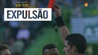 Sporting CP, Expulsão, Tobias Figueiredo aos 44'