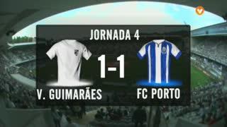 I Liga (4ªJ): Resumo Vitória SC 1-1 FC Porto